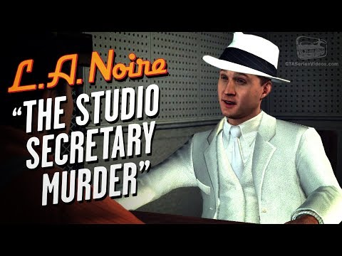 LA Noire Remaster - Case #14 - The Studio Secretary Murder (5 Stars)