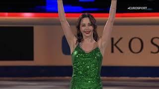 Волшебное показательное выступление Туктамышевой: танцы на льду, чемпионат мира