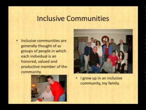 Inclusive Communities : We All Benefit