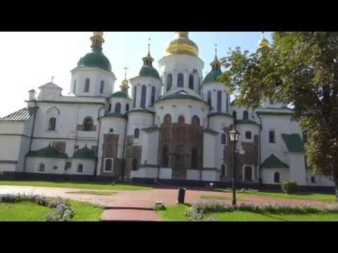 "KIEV UKRAINE SAINT SOPHIA CATHEDRAL, ""2014 SOLOAROUNDWORLD IN 25 DAYS"", PAUL HODGE, Ch 71"