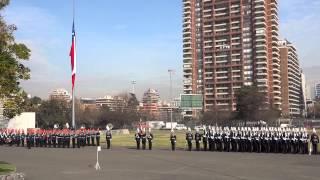 Himno nacional de Chile - Juramento a la Bandera 2013