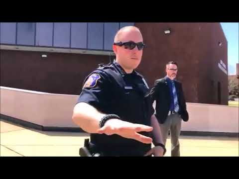 First amendment audit hampton police department