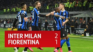 Inter Milan 2-1 Fiorentina | Coppa Italia Highlights