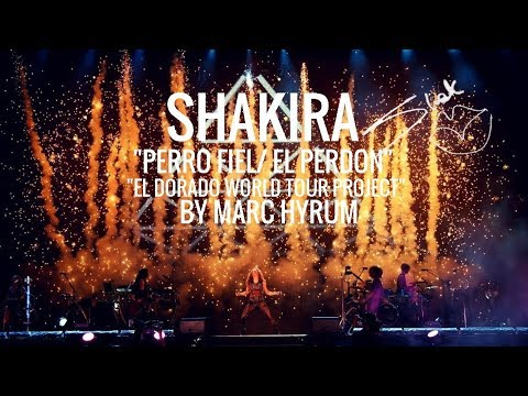 "Shakira ""Perro FielEl Perdon"" El Dorado World Tour Project  Restored DVD"