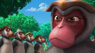 Маугли - Захватчики –развивающий мультфильм для детей HD