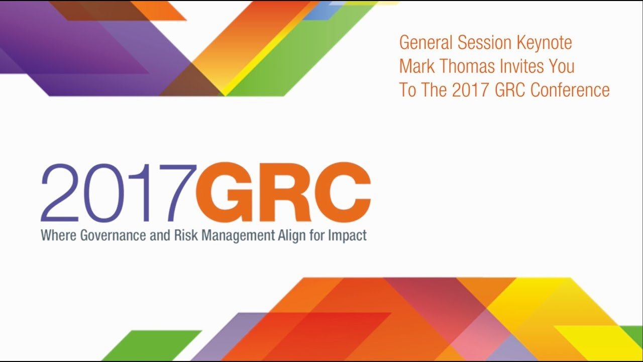 GRC Conference Invitation YouTube