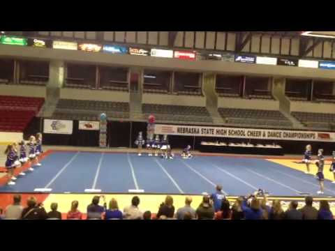 Marian High School State Cheer Competition 2013