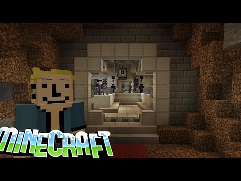 видео: #60 Убежище 101 из Fallout 3 в Minecraft!!!