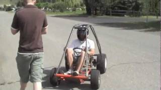 Go-kart Rollover (roll-cage Test)
