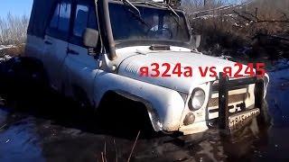 Уаз 4х4 off-road.Уаз 469 на медведях vs Уаз469 на я 324а джиппинг в Ростове-На-Дону