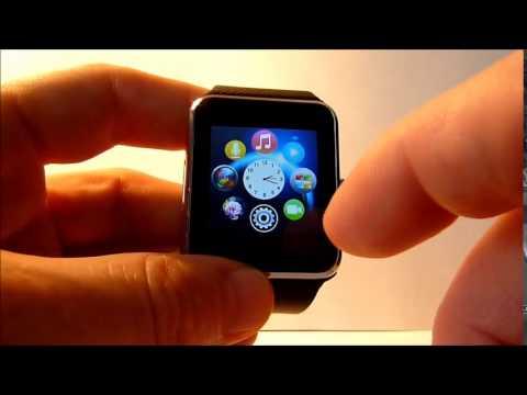 Обзор умных часов Smart Watch GT-08 - YouTube