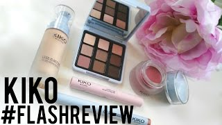 #FlashReview :  KIKO Less Is Better Collection ENG