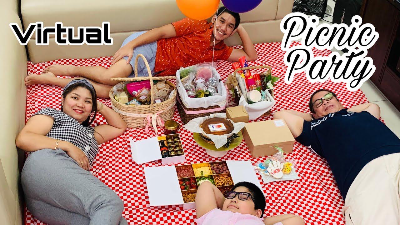 Zoom Virtual Picnic Birthday Party   Rubia Family