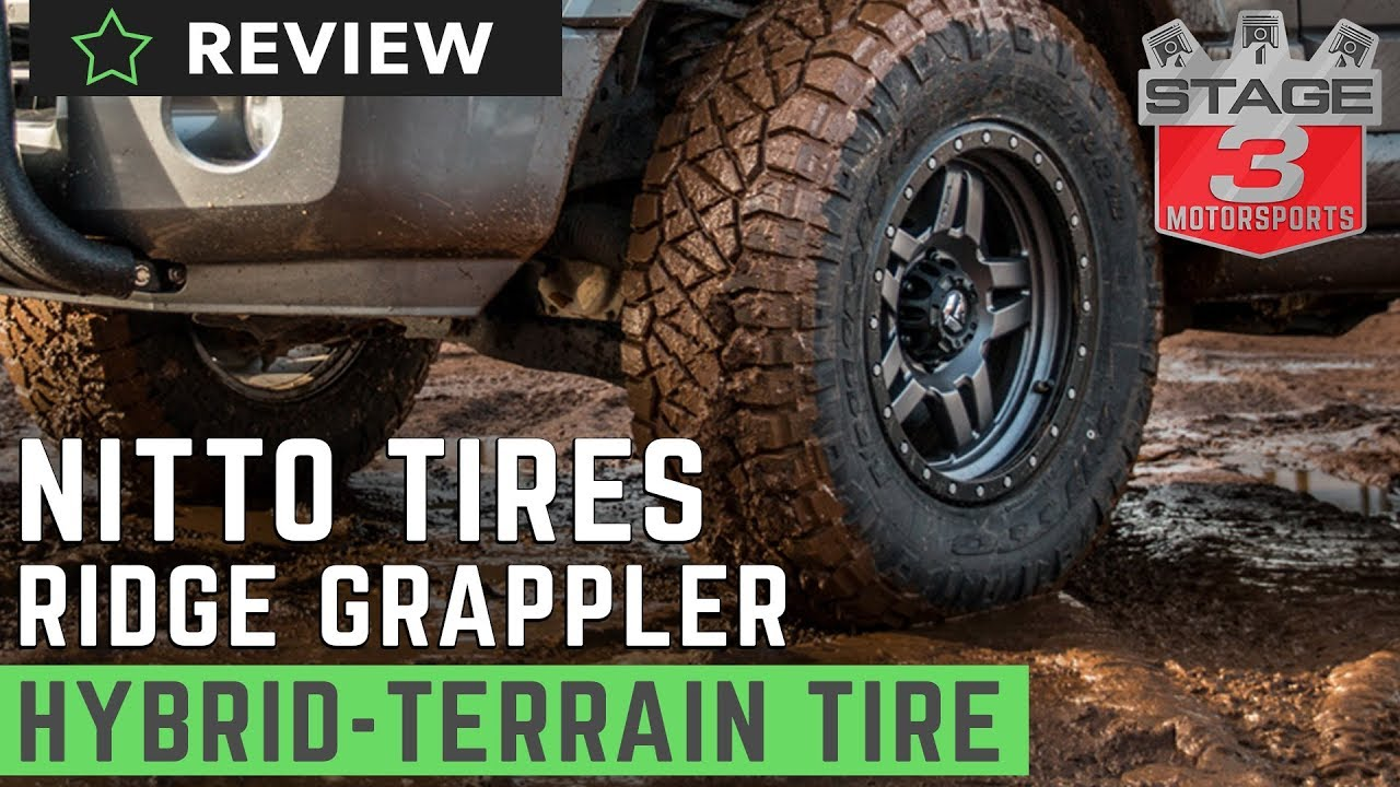 Nitto Ridge Grappler M T A T Hybrid Radial Tire Review Youtube