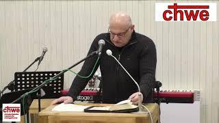 """Kazanie """"Patrz tylko na Jezusa"""" – pastor Andrzej Cyrikas"""