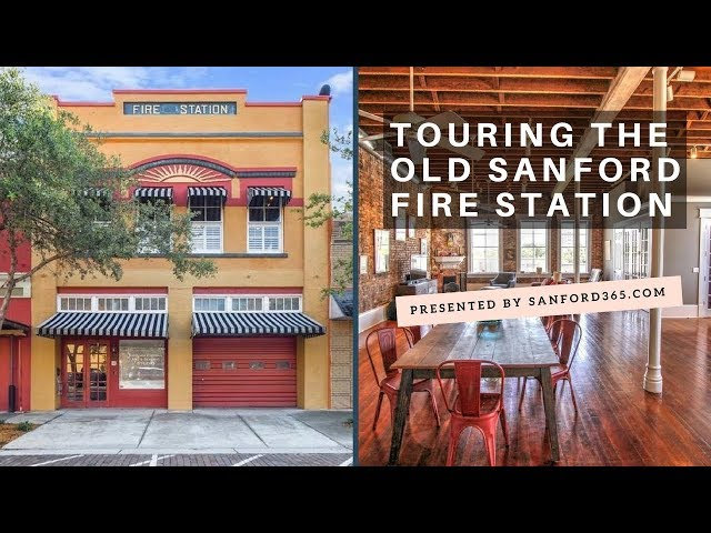 Touring the Old Fire Station in Sanford FL