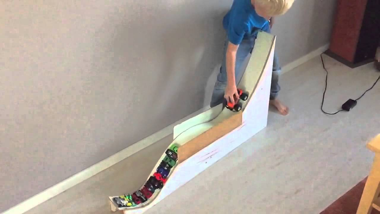 home made monster truck ramp youtube. Black Bedroom Furniture Sets. Home Design Ideas