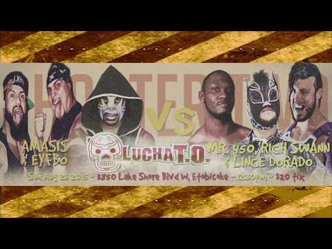 DEMAND LUCHA! - Amasis & EYFBO vs Lince Dorado, Rich Swann & Mr.450