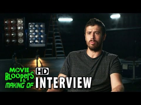 Fantastic Four (2015) BTScenes Movie Interview - Toby Kebbell is
