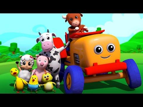 top 10 nursery rhymes | 3d rhymes | kids songs | childrens rhymes by Farmees