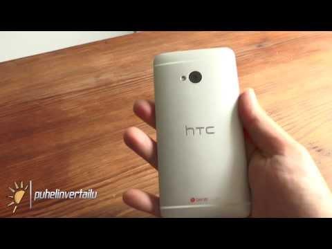 HTC One videoarvostelu