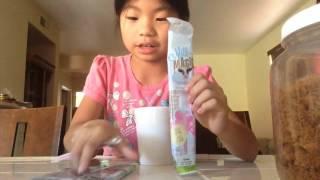 Magic milk straws