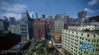 Marvel's Spider-Man PS4 Swinging Gameplay - Gameinformer Month coverage  2018