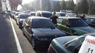 Запорожье. Бойкот цене на топливо - всеукраинская акция автомобилистов (11.10.2018)