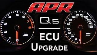 APR 3.0 TFSI Q5 ECU Upgrade - Dyno and Acceleration Comparison