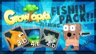 Growtopia Fishing Pack ,Balık Nasıl Tutulur .