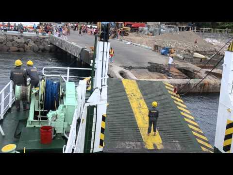 Roro docking