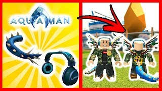 FREE THESE AQUAMAN EVENT OBJECTS - Roblox (Mision 2)