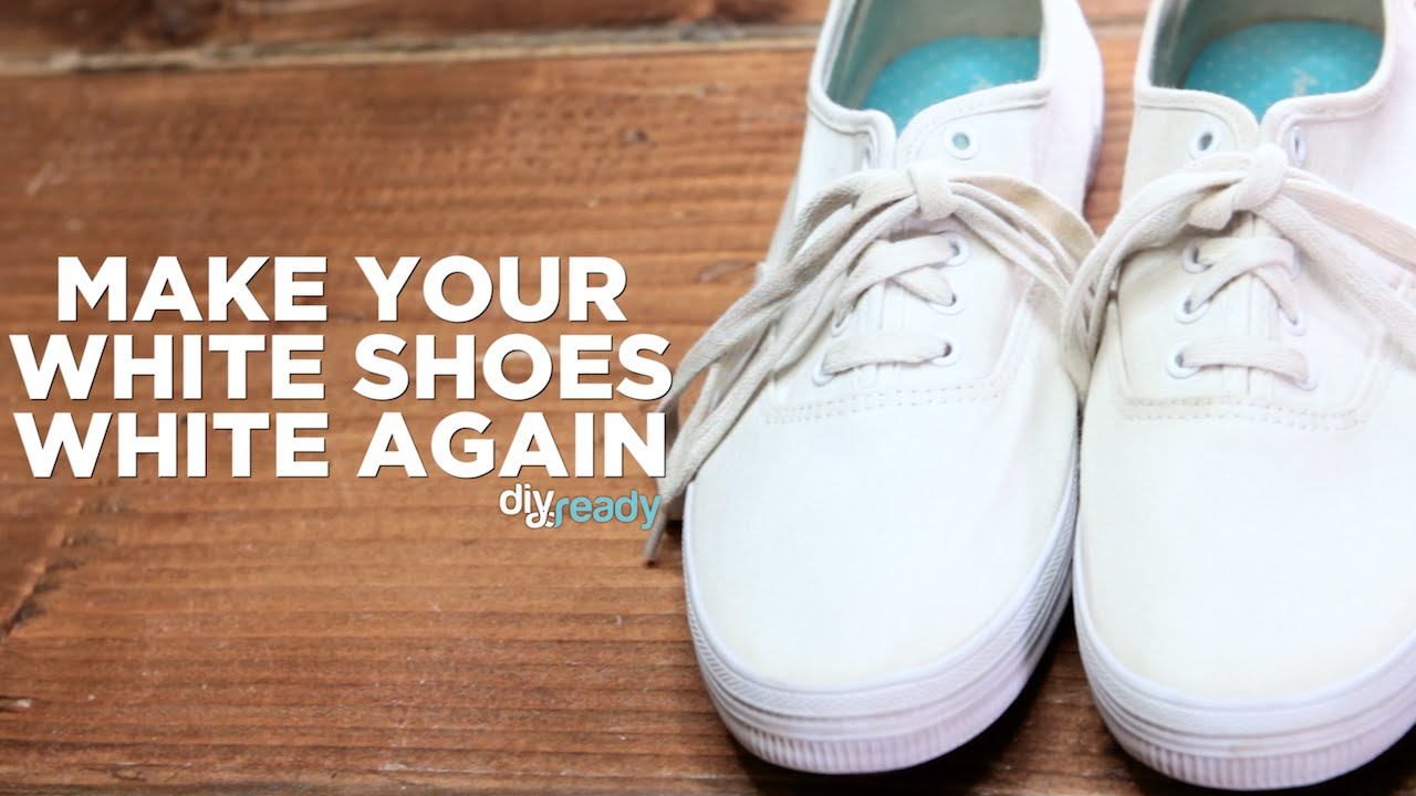 Bring Your White Shoes Back To Life