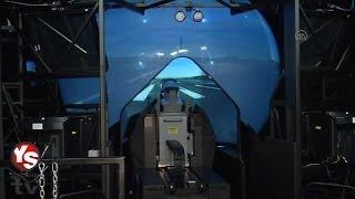 F-16 Simülatör Eğitim Merkezi - Havelsan F-16 HD 360° Dome simulator system