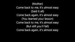 Avenged Sevenfold - Almost Easy [Lyrics]