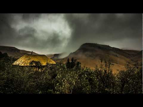 TIME-LAPSE: A storm brews over Giant's Castle in the Drakensberg