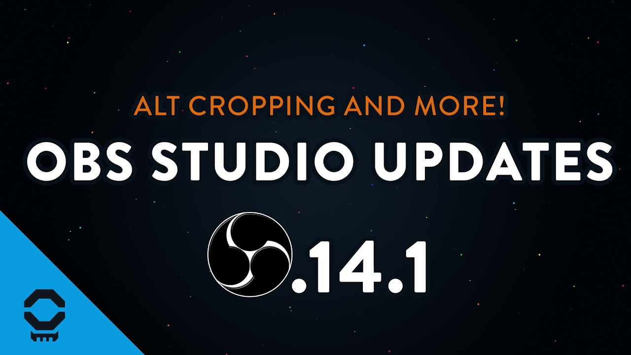 OBS Studio Updates - Alt Cropping, New Transitions, and