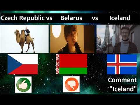 Eurovision Song Contest 2018 Knockout Game Czech Republic vs Belarus vs Iceland #7