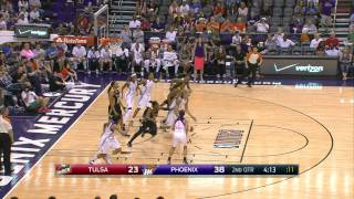Brittney Griner Towers Over The Tulsa Shock In Blowout Win
