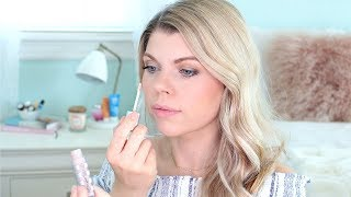 ORGANIC CONCEALER REVIEW! FITGLOW BEAUTY CONCEAL+
