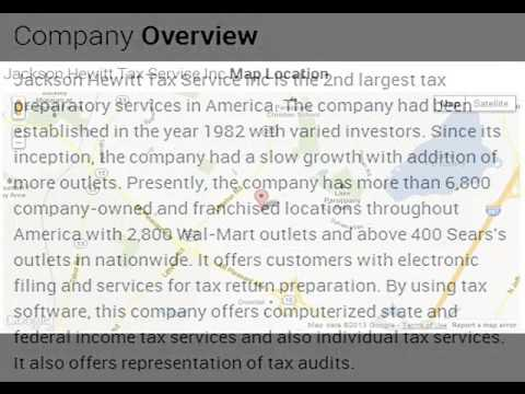 Jackson Hewitt Tax Service Inc Corporate Office Contact Information