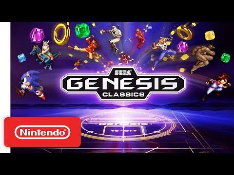 SEGA Mega Drive & Genesis Classics - Announcement Trailer - Nintendo Switch