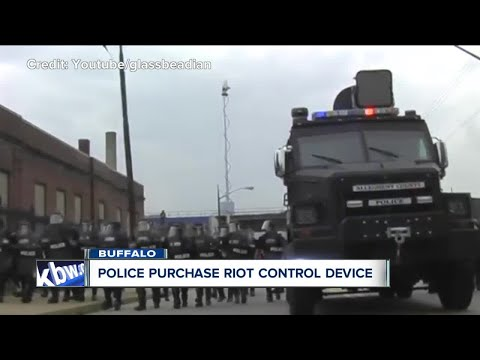 Buffalo Police purchase $30,000 riot control device