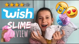 £1 WISH SLIME REVIEW! IS IT WORTH IT? SCAM?!? | ItsMeJoyz
