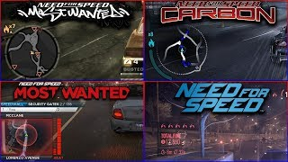 Heat (Police) Levels in NFS Games - 4kUHD