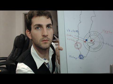 ASMR for sleep - teacher role play: sharpie, whiteboard & ma