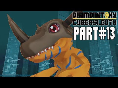 Digimon Story Cyber Sleuth Walkthrough Part 13 Gameplay Lets Play
