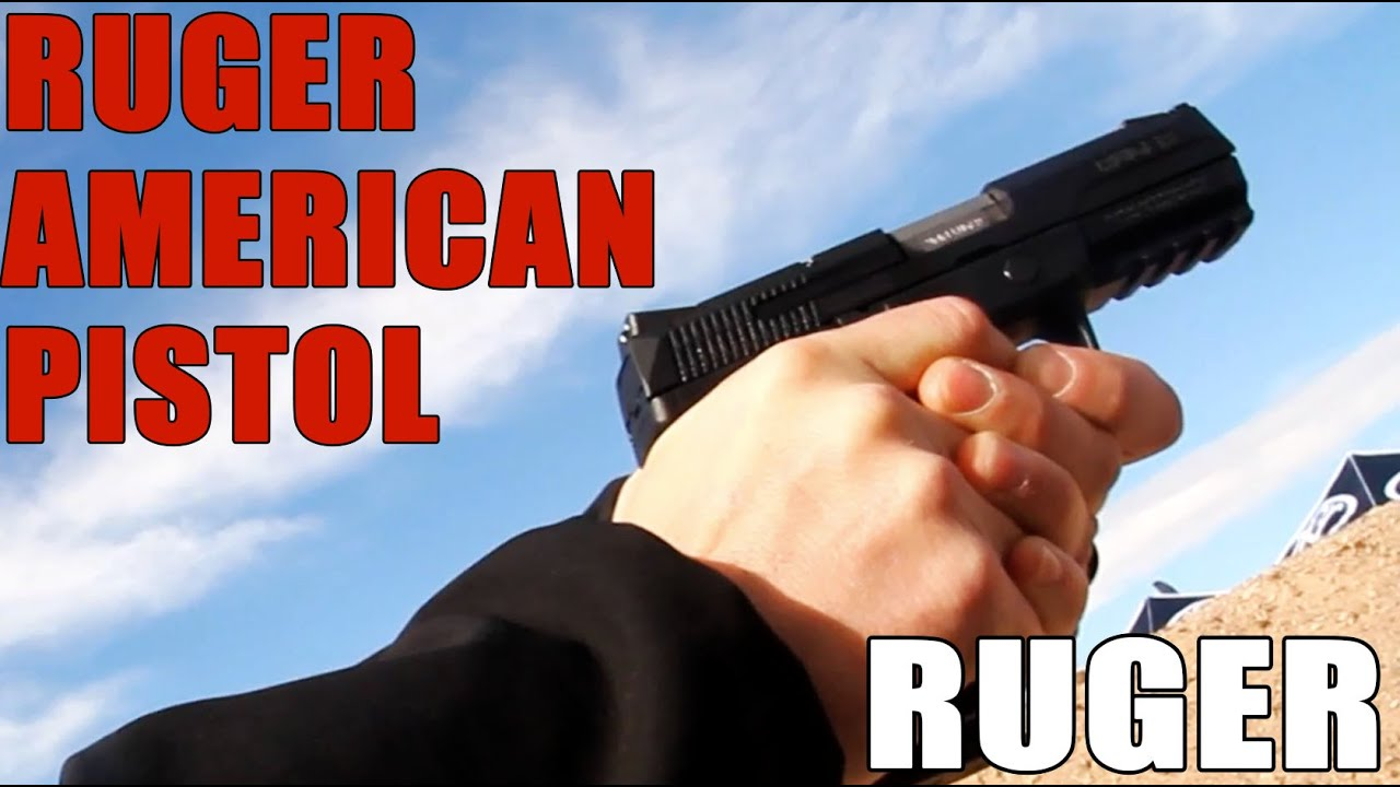 The Ruger American Pistol | Try it for yourself