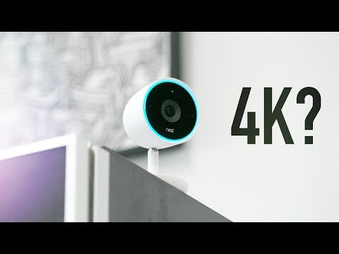 Nest Cam IQ: Security Camera + 4k Sensor?