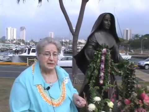 Mother Marianne Cope Statue Dedication, Honolulu Jan 23, 2010